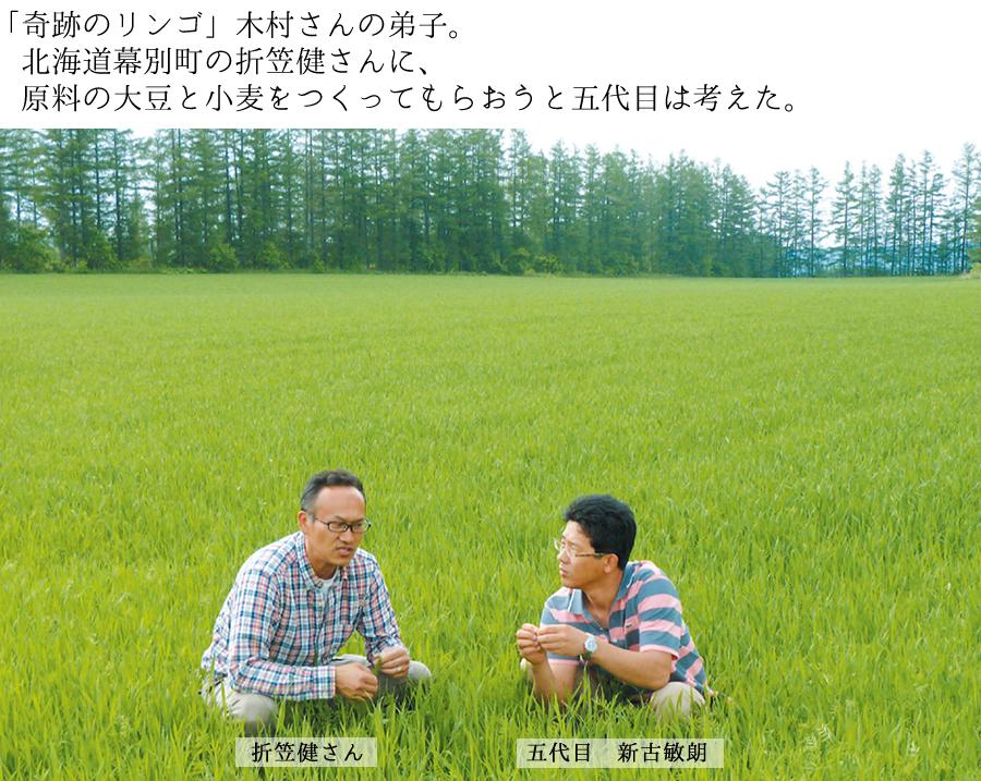 折笠健さんと湯浅醤油5代目新古敏朗