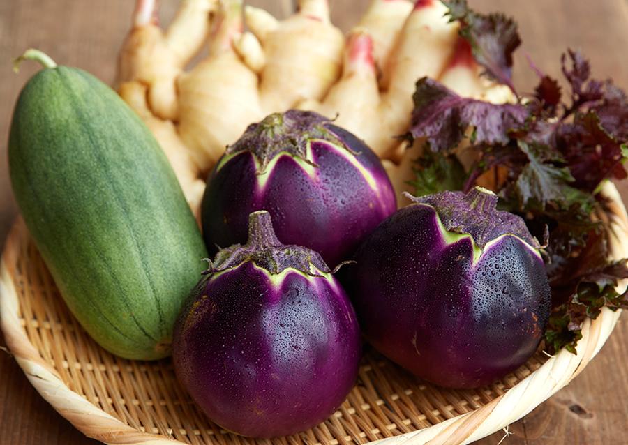 金山寺味噌につかっている野菜